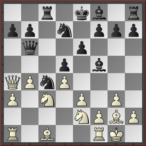 White has missed to play e4 (Rybka: +0.65 after exchanges) and went Ra2?! instead...