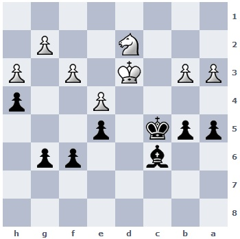 Georgi had this endgame position. How should Black proceed? (see solution at the end of this article)