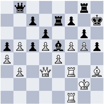 34. fxg6+ fxg6 35. Be6 Rg7 36. Rf6! Qd8 37. Qh3! Re8 38. Qxh5+ gxh5 39. Rh6# 1-0