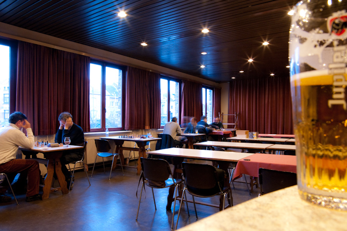 Playing hall in Dendermonde