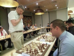 Fire on the board! GM Alexei Shirov triumphs over Europchess