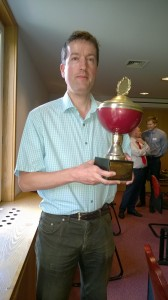 Tom Wiley is the club champion 2014-2015